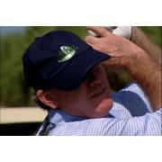 SkyKap Advisor Golf Rangefinder GPS Cap Navy