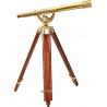 Barska 18x50 Anchor Master Spyscope - Spotting Scope w/ Mahogany Floor Tripod AA10618