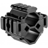 Barska Double Shotgun Tri-Rail Barrel Mount, 3 Sections