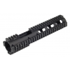 Leapers UTG PRO Model 4/15 Carbine Length Quad Rail System w/ Front Extension MTU015