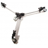 Manfrotto Bogen Folding Auto Dolly for Twin Spiked Metal Feet Tripods 181