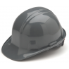 Pyramex Cap Style 4 Point Ratchet Suspension Hard Hat - Gray HP14112 16-PACK