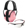 Radians Remington Women's Combo Pack Earmuffs/Glasses Clampacked T71P/MP22C